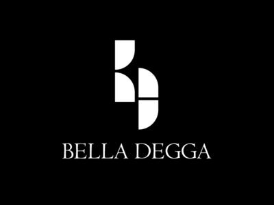 Bella Degga minimal design typography vector icon logo