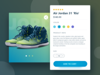 Product Card for shoe