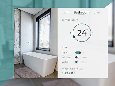 Daily Ui Home Monitoring Dashboard homemonitoringdashboard dashboard monitoring home screen design ui uichallange daily daily challange dailyuichallange dailyui