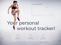 Daily Ui Workout Tracker