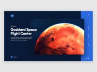 Nasa - Landing Page