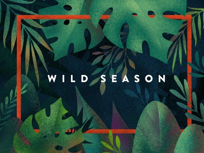 Wild Season vector illustration colors design