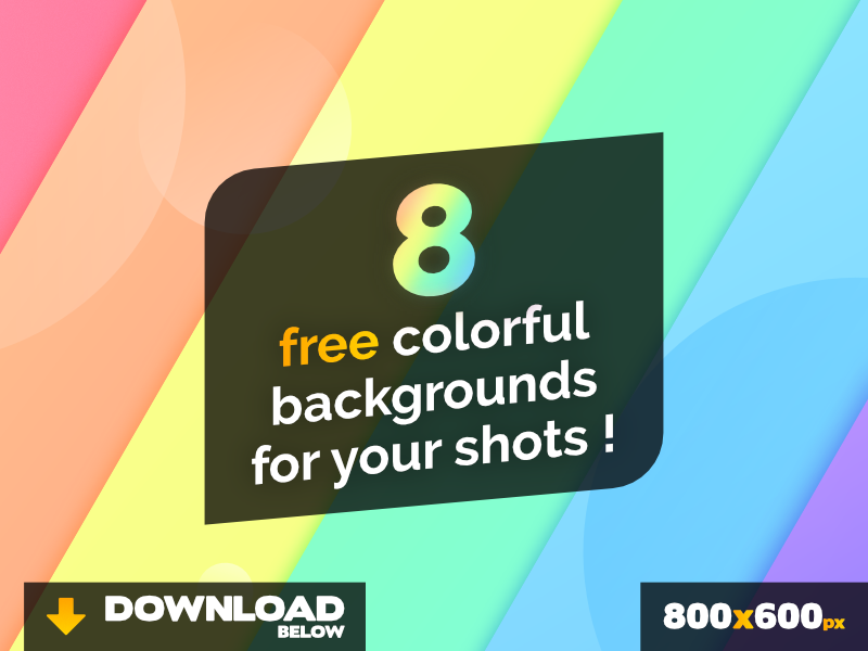 free backgrounds for your shots by simon breil dribbble dribbble