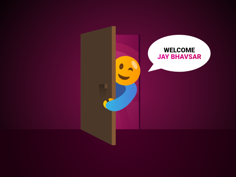 Welcome Jay ! welcome welcome to dribbble