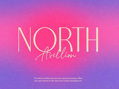 Trendy Free Fonts - Typography Concept - North Carossela freetrendyfont trendfont toptenfreefont2021 bestfreetype freefont trendyfont