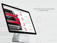 Toyota web ad imac