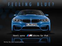 BMW M3 concept ad