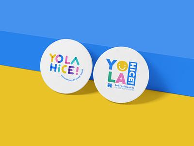 Yolahice! typography vector logo branding design