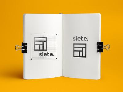 Seven logo design branding