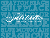 Visit South Walton Florida Beach Towel
