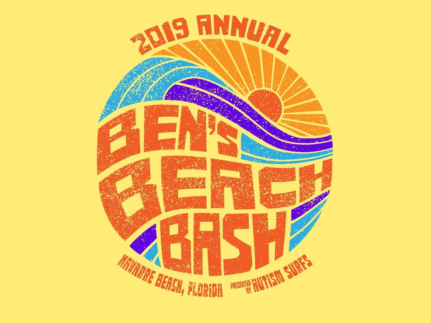 Ben's Beach Bash - Event T florida navarre wave sunset beach surfing autism