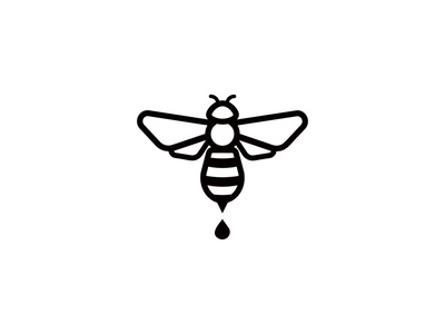 Vic's Bees Logo kentucky bee logo bee branding identity graphic  design logo