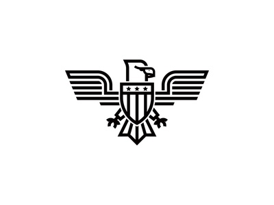 July 4 Eagle Logo eagle logo louisville logo design kentucky illustration vector branding identity design logo graphic  design