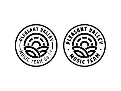 Pleasant Valley Music: Unchosen Concept church branding church logo badge design music logo owensboro ky owensboro kentucky logo design branding identity design logo graphic  design