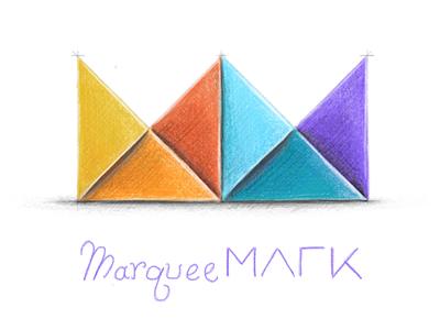 MarqueeMark Logo Idea - v01 notes app apple pencil logo ipad pro
