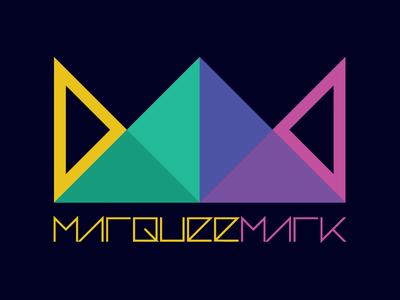 MarqueeMark Logo Update adobe illustrator geometric flat logo