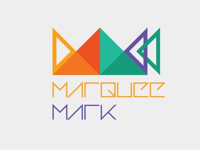 Marqueemark Logo Update - v02 adobe illustrator geometric flat logo