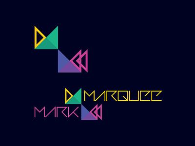 Marqueemark Logo Update - v05 adobe illustrator geometric flat logo