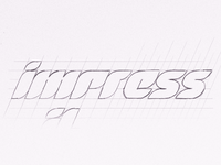 Impressive Logotype Sketch