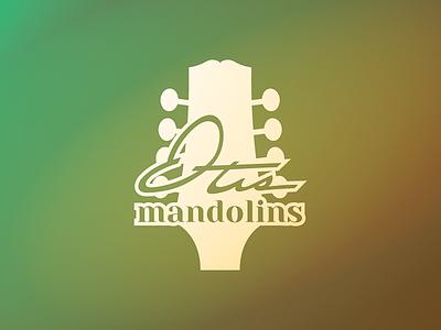 Otis Mandolins Logo music logo knockout