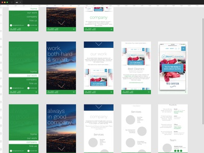 Distill Mill Website - v01 mockup website mobile ux ui