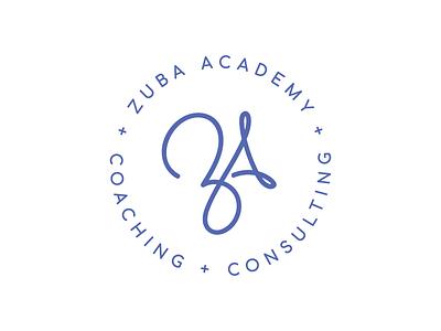Zuba Academy Logo logomark circle logo
