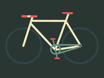 Bike Personality: Commuter neighborhood city fixedgear commuter biker bike mtl montreal design illustraor illustration