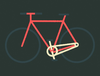 Bike Personality: Citizen mtl montreal illustrator fixedgear transport city biker bike design illustration