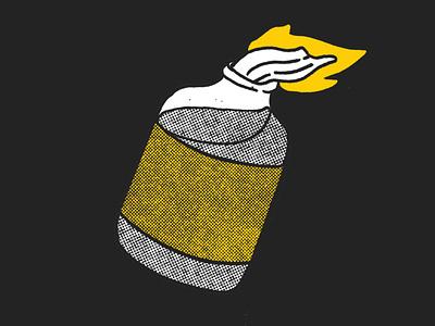 Molotov cocktail molotov skate or die montreal lettering hand lettering poster festival poster design branding artistic direction illustration illustraor