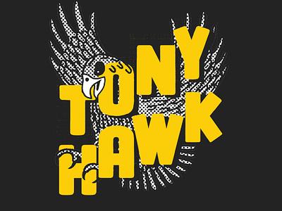 Tonay Hawk @JackalopeFestival skate board skate or die montreal poster festival poster typography type hand lettering lettering design branding artistic direction illustration illustraor