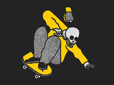 Hang Loose hang loose skate skate or die skate board montreal poster festival poster hand lettering lettering design branding artistic direction illustration illustraor