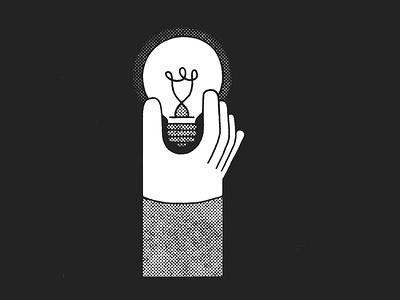 Light bulb light light bulb type daily type art texture gritty type typography lettering illustration illustraor hand lettering logo grid logo font design alphabet 36daysoftype