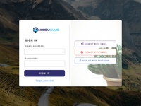 Sign Up Page Psd Free Download