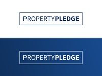 Property Pledge Logo Concept