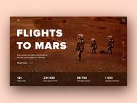 Flights to the Mars