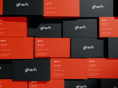 Ghem Brand Identity icon illustration minimal logo design graphic design branding