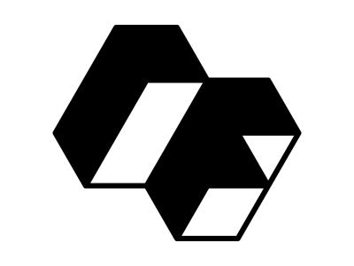 Self Logo  logo identity selfpromo rf geometry triangles