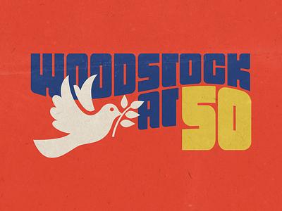 Woodstock at 50 woodstock documentary logo
