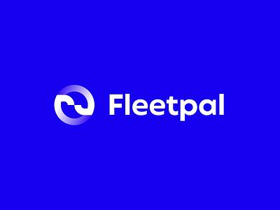 Logo animation for Fleetpal flat 2d animation animation ae animated logo after effects 2d loader intro icon brand branding anim logo animation gif video motion motion design logo
