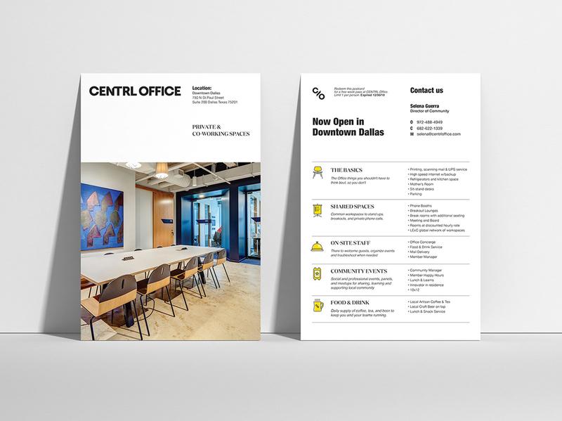 CENTRL vpagency design editorial collateral brandingdesign designinspiration creative identity brand branding