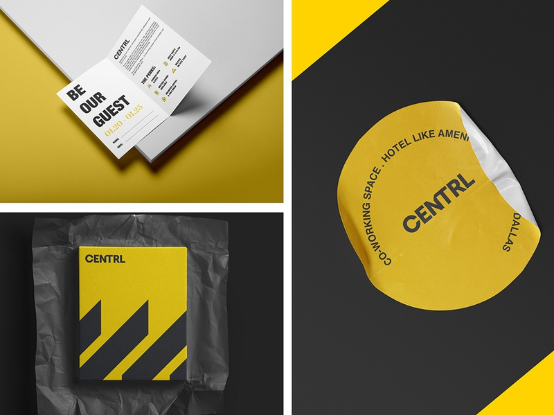 CENTRL brandingidentity mockup vpagency designinspiration inspiration brandingdesign identity design brand branding