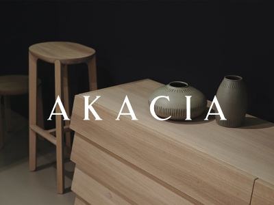 AKACIA furniture logoinspiration vpagency creative logo designinspiration inspiration identity design brand branding
