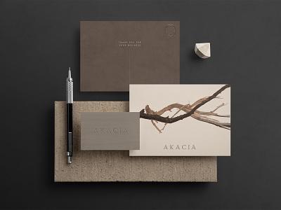 AKACIA  Branding application brand identity visual identity poster namecard brandingdesign vpagency creative logo designinspiration inspiration identity design brand branding