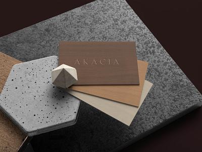AKACIA name card branding identity visual identity logoinspiration logo brandingidentity brandingdesign vpagency designinspiration identity design brand branding
