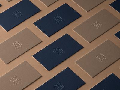 DH graphicdesign namecard visual identity brand identity brandingdesign brandinspiration mockup vpagency creative logo design identity brand branding