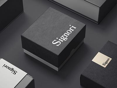 SIGNORI branding design logos brandingdesign packaging vpagency creative logo designinspiration inspiration identity design brand branding