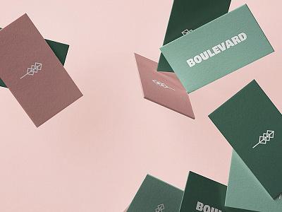 Boulevard Card Design icon typography vpagency businesscard logo mockup identity logoinspiration inspiration graphicdesign brand design brandingdesign brandingidentity brandinspiration carddesign logodesign designinspiration visionaryplayground branding