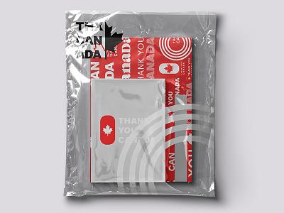 Thank You Canada poster logo graphic designer creative identity graphicdesign logoinspiration inspiration design brandinspiration visionaryplayground mockup brandingidentity brandingdesign logodesign designinspiration brand vpagency branding