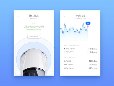 Car Interface - Daily UI - #34