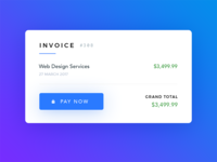Invoice - Daily UI - #046